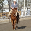 That's me riding my horse Conner.