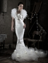 Bridal spec editorial: Dress reconstructed by Edie