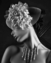 old Hollywood Fashion, styling created by stylist Edith Henry