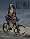 Advertising poster for MODE Bicycle in OC CA