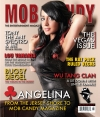 Mob Candy Magazine Cover of Angelina of MTV's Jersey Shore
