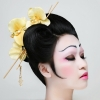 modern day Geisha  created by Elise mua with model Kelly